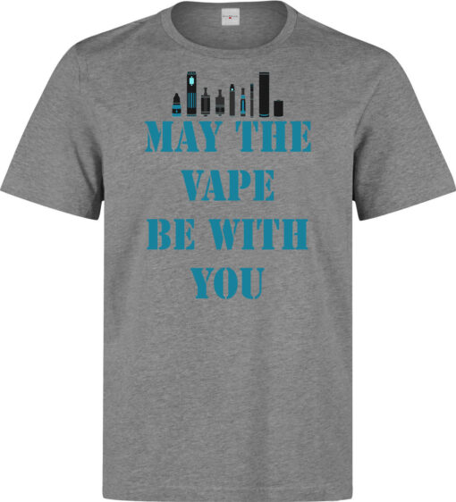 The Vaporizer Being With (Available For Women) Gray Principle Funny Slogan Men T Shirt