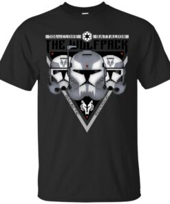 The Wolfpack Clone troopers White Cotton T-Shirt