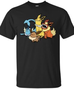 The one with all the evolutions Cotton T-Shirt
