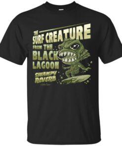 The surf creature Cotton T-Shirt