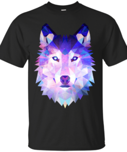 The wolf Cotton T-Shirt