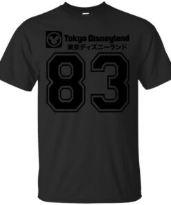 Tokyo Disney 83 Cotton T-Shirt