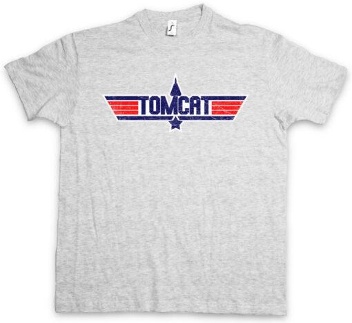 Tomcat Jet Fun Top Gun Fighter Plane Maverick T Shirt