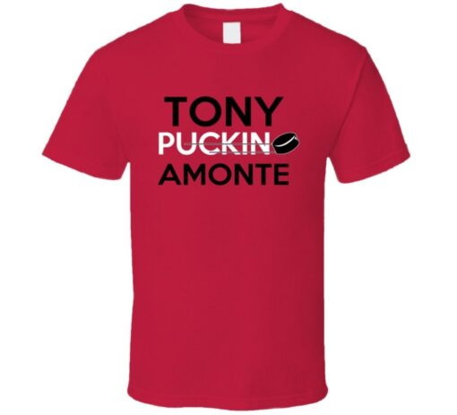 Tony Amonte Hockey Calgary Puckin T Shirt