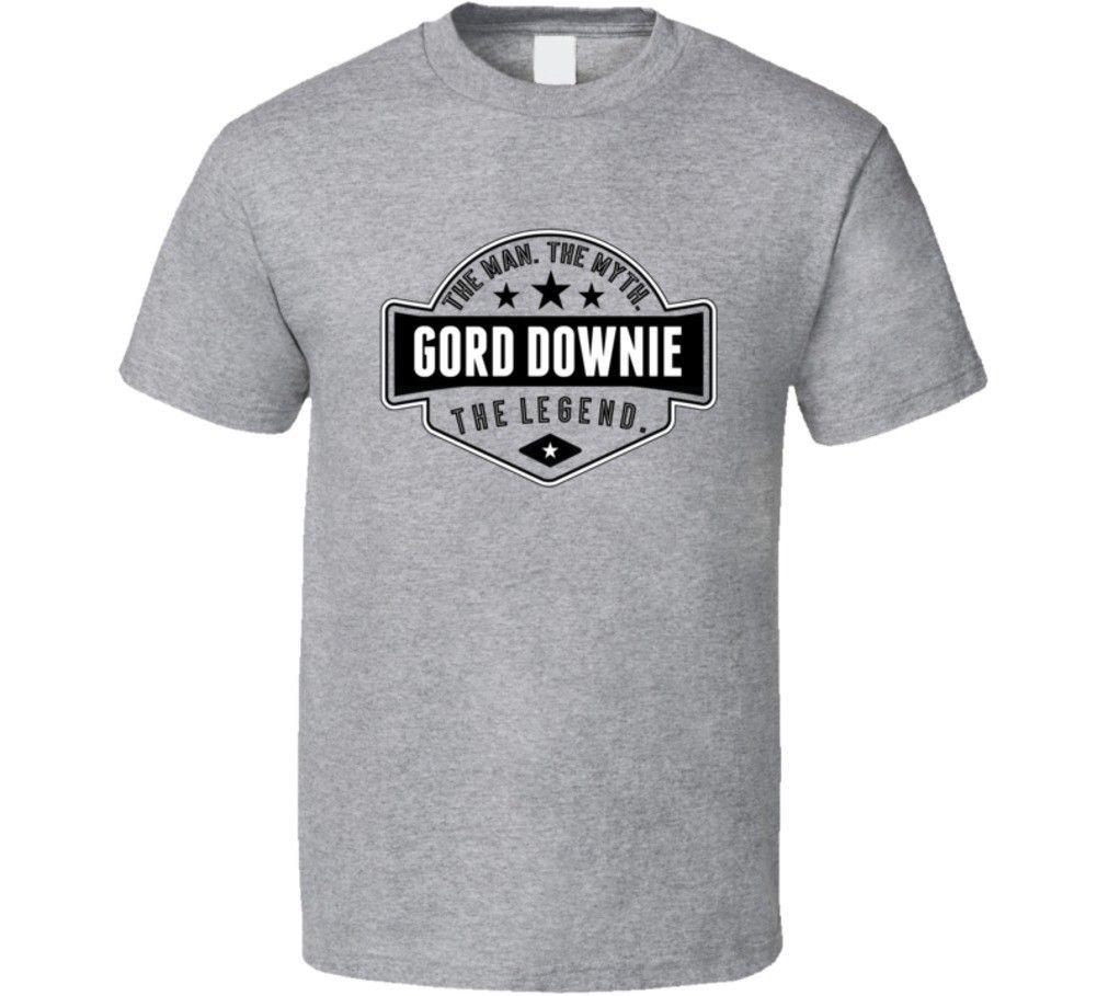 Tragically Hip Singer Gord Downie Legend Rip T T Shirt