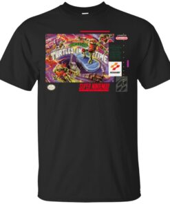 Turtles In Time Cotton T-Shirt