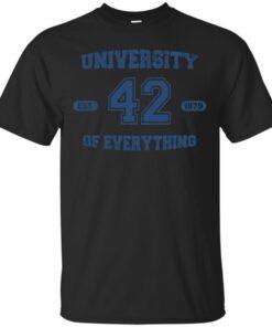 University of Everything Cotton T-Shirt