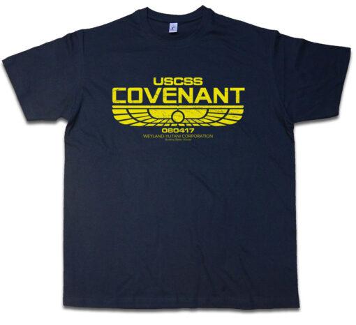 Uscss Pact Ii Prometheus Alien Nostromo Ripley Yutani Corp Logo T Shirt