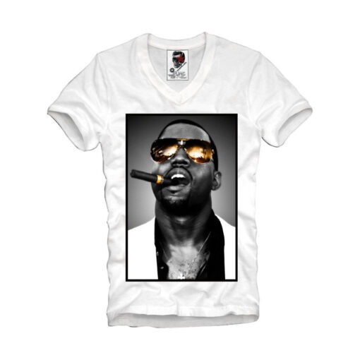 V-Neck Jay Z Kanye West Dope Boy Once Trill 237V T Shirt