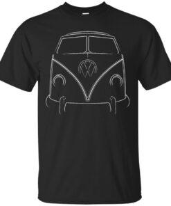 VW Microbus Cotton T-Shirt
