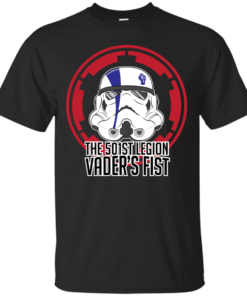 Vaders Fist Cotton T-Shirt