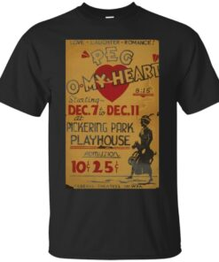 WPA United States Government Work Project Administration Poster 0838 Peg O My Heart Pckering Park Playhouse Cotton T-Shirt
