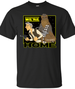 We Are Home Cotton T-Shirt