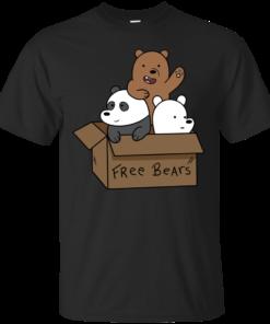 We Bare Bear Cubs Cotton T-Shirt