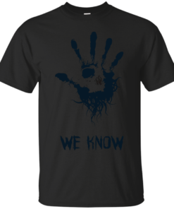 We Know Cotton T-Shirt