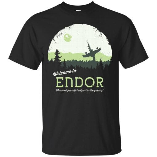 Welcome To Endor Cotton T-Shirt