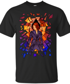 Widow Stained Glass Cotton T-Shirt