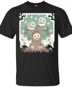 Wood Owl Woods Cotton T-Shirt