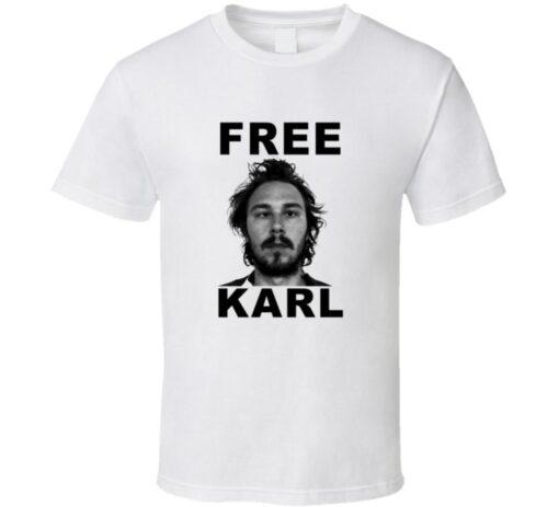 Workaholics Tv Show Free Karl T T Shirt
