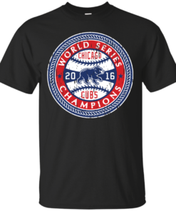 World Series Cubs Cotton T-Shirt