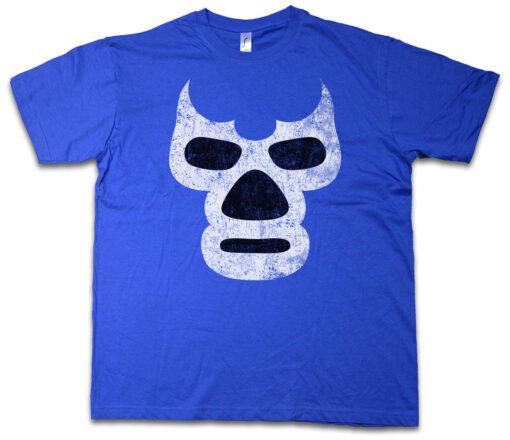 Wrestler Blue Demon Wrestling Mexican Wrestler Mask Mexico Latin America T Shirt