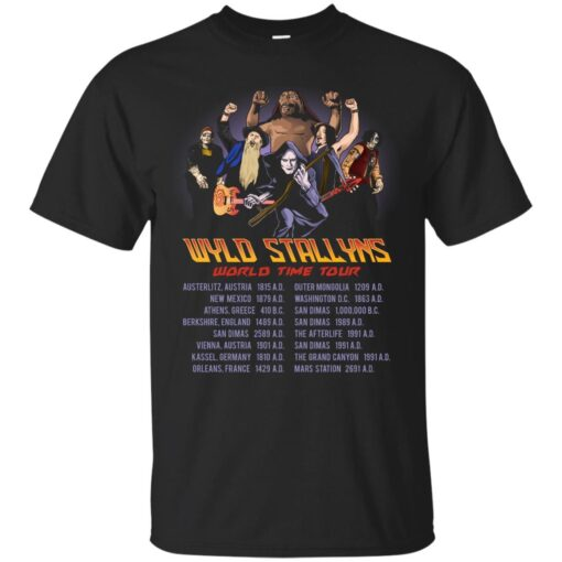 Wyld Stallyns World Time Tour Cotton T-Shirt