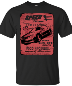 Xfire Coupe Vintage style racing poster Cotton T-Shirt
