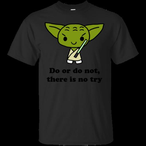 Yoda Quote Cotton T-Shirt