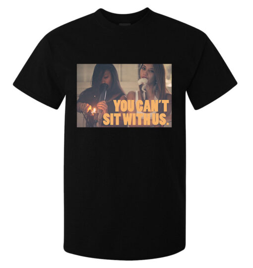 You Can Not Sit With Us Smokers (Available For Women) Men Black Girl Art T Shirt