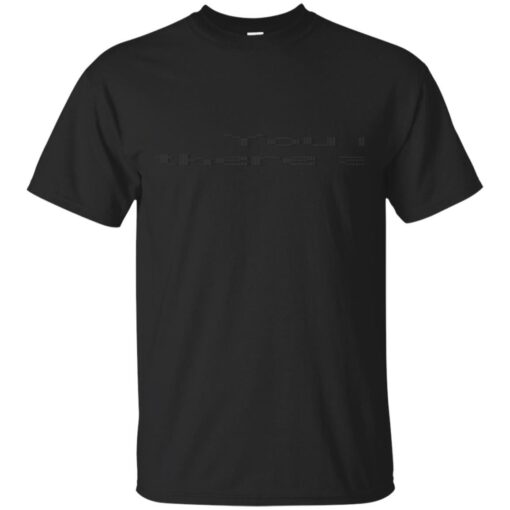 You May Not Rest Now Cotton T-Shirt