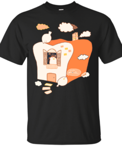 a mochi birds toasty home home Cotton T-Shirt
