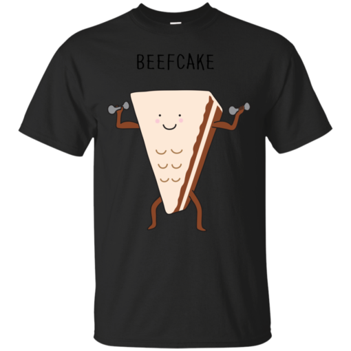 beefcake food Cotton T-Shirt