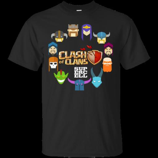 clash troops coc Cotton T-Shirt