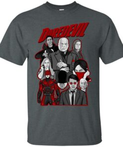 daredevil character collage art Cotton T-Shirt