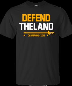 defend the land Cotton T-Shirt