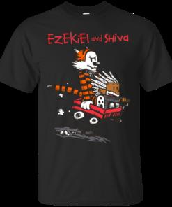 ezekiel and shiva Cotton T-Shirt