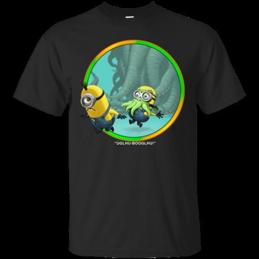 glhuBooglhu scary mask Cotton T-Shirt