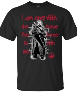 I am one with the Force Cotton T-Shirt