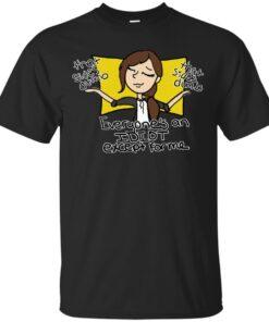 le enlightened centrist by shoe Cotton T-Shirt