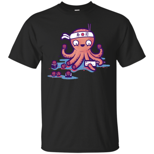octo sushi Cotton T-Shirt