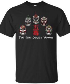 the Five Deadly Venoms Cotton T-Shirt