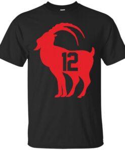 tom brady goat Cotton T-Shirt